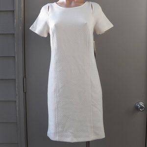 kensie Short-Sleeve Cutout Dress
